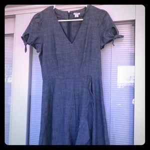 J crew factory chambray dress